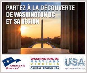Partez à la découverte de Washington DC et sa région !